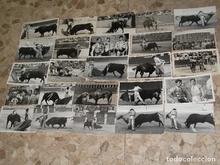 Tauromaquia: COLECCION DE 100 POSTALES FOTOGRAFICAS FOTOGRAFIA DE TOREROS Y ESCENAS DE TOROS AÑOS 50 - Foto 2 - 220261810