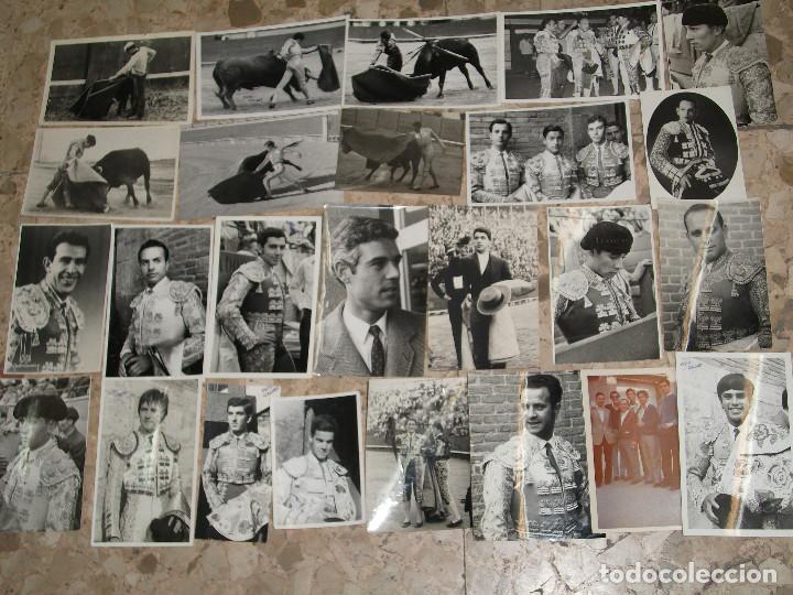 Tauromaquia: COLECCION DE 100 POSTALES FOTOGRAFICAS FOTOGRAFIA DE TOREROS Y ESCENAS DE TOROS AÑOS 50 - Foto 3 - 220261810