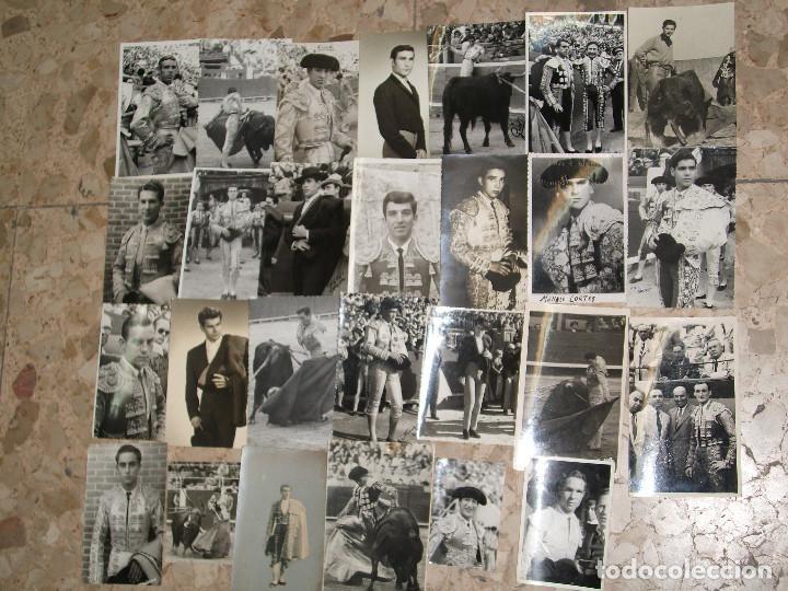 Tauromaquia: COLECCION DE 100 POSTALES FOTOGRAFICAS FOTOGRAFIA DE TOREROS Y ESCENAS DE TOROS AÑOS 50 - Foto 4 - 220261810