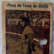 Tauromaquia: 1932 · ENTRADAS DE TOROS DE CADIZ, CORDOBA Y JEREZ UNA MAS ANTIGUA SIN FECHA. Lote 222255185