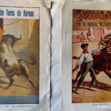 Tauromaquia: 1925 BORNOS Y PUERTO DE STA. MARIA CORRIDAS PROGRAMAS DE MANO. Lote 222256488