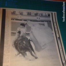 Tauromaquia: ANTONIO MUÑOZ - FERIA DE MÉRIDA - SEPTIEMBRE 1991 - SATELITE ATLANTICO EFE. Lote 222377536