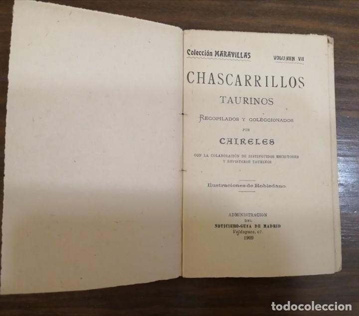 Tauromaquia: CHASCARRILLOS TAURINOS. Recopilados y coleccionados por ... CAIRELES. - Foto 3 - 222355198