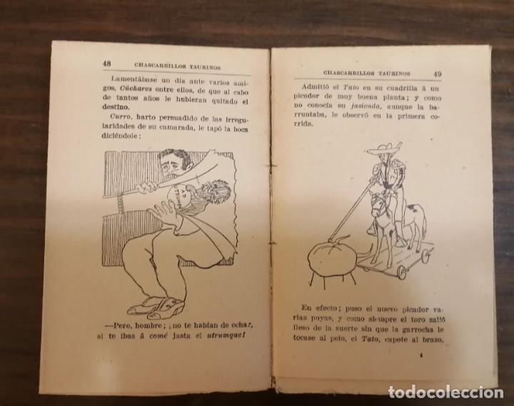 Tauromaquia: CHASCARRILLOS TAURINOS. Recopilados y coleccionados por ... CAIRELES. - Foto 4 - 222355198