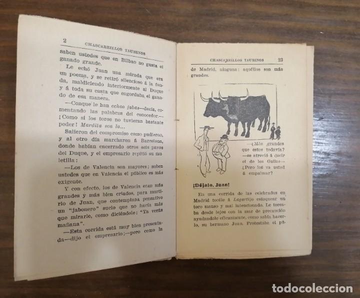 Tauromaquia: CHASCARRILLOS TAURINOS. Recopilados y coleccionados por ... CAIRELES. - Foto 6 - 222355198