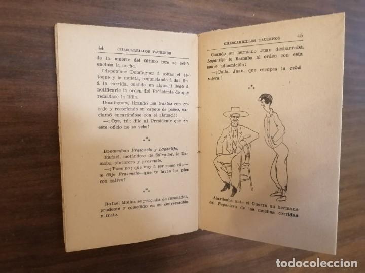 Tauromaquia: CHASCARRILLOS TAURINOS. Recopilados y coleccionados por ... CAIRELES. - Foto 7 - 222355198