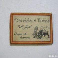 Tauromaquia: BULL FIGHT-CORRIDAS DE TOROS-MINI BLOC CON 12 FOTOGRAFIAS-JDP-VER FOTOS-(74.870). Lote 222586760
