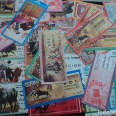 Tauromaquia: 30 ENTRADAS DE TOROS PLAZA DE TOROS DE TARRAGONA. Lote 222631128