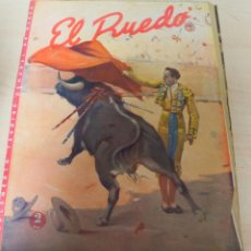 Tauromaquia: REVISTA PERIODICO TAURINA EL RUEDO SEPTIEMBRE AÑO 1945 Nº 64. Lote 222834220