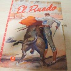 Tauromaquia: REVISTA PERIODICO TAURINA EL RUEDO SEPTIEMBRE AÑO 1945 Nº 65. Lote 222834445