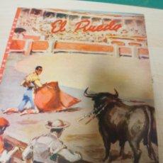 Tauromaquia: REVISTA PERIODICO TAURINA EL RUEDO OCTUBRE AÑO 1955 Nº 580 (CREO POR QUE NO SE VE BIEN). Lote 222835316
