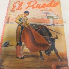 Tauromaquia: REVISTA PERIODICO TAURINA EL RUEDO ENERO AÑO 1945Nº 32. Lote 222835420