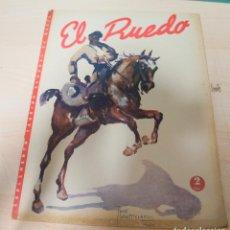 Tauromaquia: REVISTA PERIODICO TAURINA EL RUEDO MARZO AÑO 1946 Nº 92. Lote 222835917