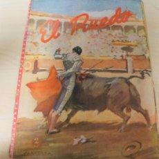 Tauromaquia: REVISTA PERIODICO TAURINA EL RUEDO AGOSTO DEL AÑO 1945 Nº 59. Lote 222837176