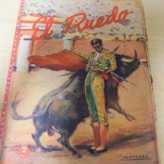 Tauromaquia: REVISTA PERIODICO TAURINA EL RUEDO AGOSTO DEL AÑO 1945 Nº 60. Lote 222837471