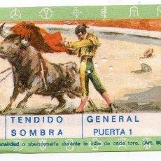 Tauromaquia: ENTRADA PLAZA DE TOROS DE TORRELAVEGA TENDIDO SOMBRA PUERTA 1 CORRIDA DE TOROS 15/08/1972 CANTABRIA. Lote 223817532