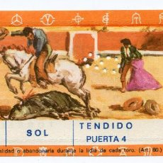 Tauromaquia: ENTRADA PLAZA DE TOROS DE REINOSA TENDIDO SOL PUERTA 4 CORRIDA DE TOROS 9/07/1972 CANTABRIA. Lote 223845157