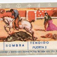 Tauromaquia: ENTRADA PLAZA DE TOROS DE REINOSA TENDIDO SOMBRA PUERTA 2 CORRIDA DE TOROS 9/07/1972 CANTABRIA. Lote 223845368