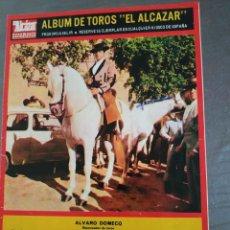 Tauromaquia: 28 LÁMINAS TOREROS REVISTA ÁLCAZAR, AÑO 1967, EDICIONES JOKER. Lote 224081817