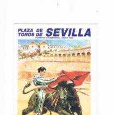 Tauromaquia: PROGRAMA DE MANO TOROS MAESTRANZA DE SEVILLA FERIA DE ABRIL 1990. Lote 224109137
