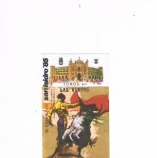 Tauromaquia: PROGRAMA DE MANO TOROS EN LAS VENTAS SAN ISIDRO 85 FERIA MAYO MADRID. Lote 224109405