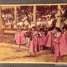 Tauromaquia: TAUROMAQUIA GOYESCAS FOTOGRAFÍA A. ORDÓÑEZ, PAQUIRRI, A. BIENVENIDA. RONDA 1973. Lote 225196797