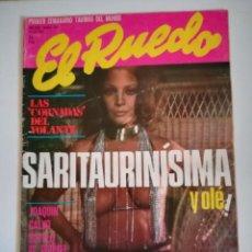 Tauromaquia: REVISTA TOROS EL RUEDO NUMERO 1621 JULIO 1975 SARITAURINISIMA Y OLE SARA MONTIEL. Lote 225620535