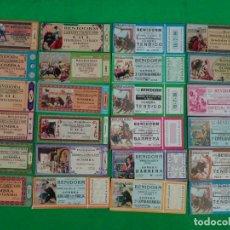 Tauromaquia: LOTE DE 24 ENTRADAS DE TOROS DE BENIDORM-AÑO 1999-MUY BUEN ESTADO. Lote 226226850