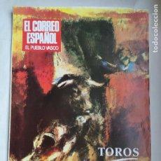 Tauromaquia: TOROS EL CORREO ESPAÑOL. ABRIL 1987. SUPLEMENTO. TDK309B. Lote 226908355