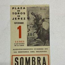 Tauromaquia: ENTRADA DE TORO. PLAZA TOROS DE JEREZ. 1971. VER FOTOS. Lote 227191535