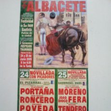 Tauromaquia: ALBACETE. Lote 227668055