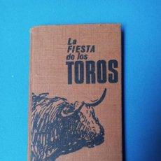 Tauromaquia: LA FIESTA DE LOS TOROS - JUAN ROMERO - 1964. Lote 228133415