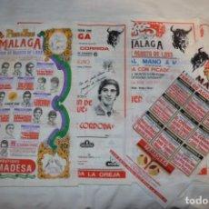 Tauromaquia: LOTE 02 / LOTE DE CARTELES / PAÑUELOS DE TOROS - MUY VARIADOS - ¡MIRA FOTOS Y DETALLES!. Lote 229233520