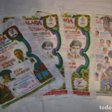 Tauromaquia: LOTE 03 / LOTE DE CARTELES / PAÑUELOS DE TOROS - MUY VARIADOS - ¡MIRA FOTOS Y DETALLES!. Lote 229233625