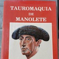 Tauromaquia: TAUROMAQUIA DE MANOLETE (II) - 1917-1947-1991 PACO LAGUNA. Lote 229496645