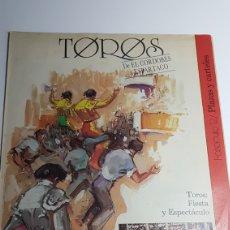 Tauromaquia: TOROS FASCÍCULO 12 - PLAZAS Y CARTELES - DE EL CORDOBÉS A ESPARTACO - ÁLVAREZ CARMENA. Lote 230214330