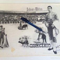 Tauromaquia: CARTEL PUBLICITARIO DEL TORERO CARNICERITO DE ÚBEDA. Lote 231067930