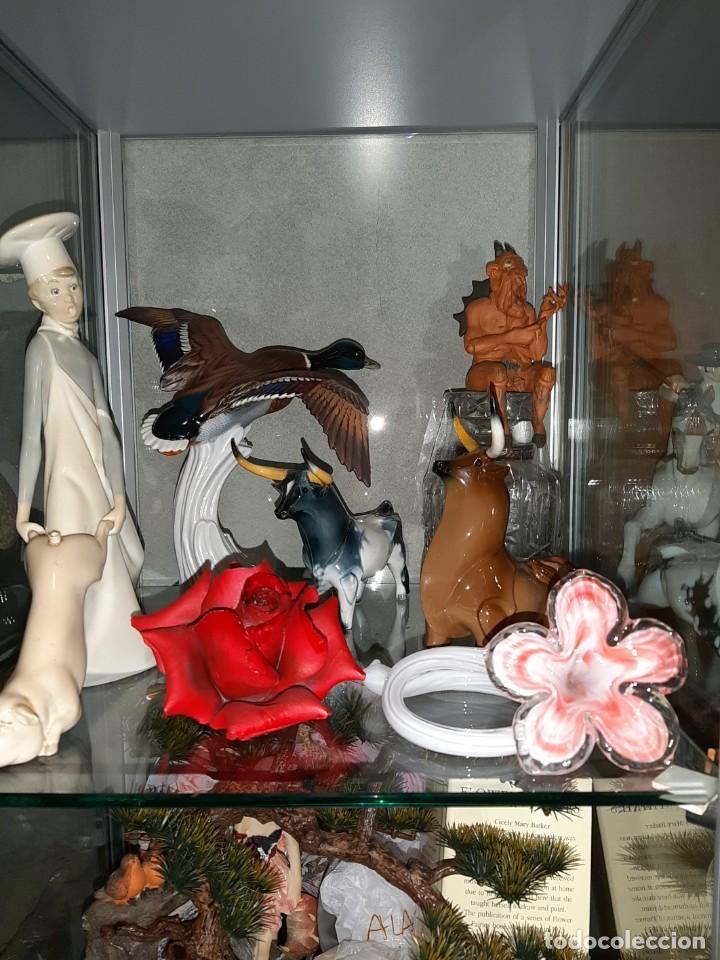 Tauromaquia: oferta , PAREJA DE TOROS RESTAURADOS DE PORCELANA MARCA ALGORA - Foto 13 - 233465770
