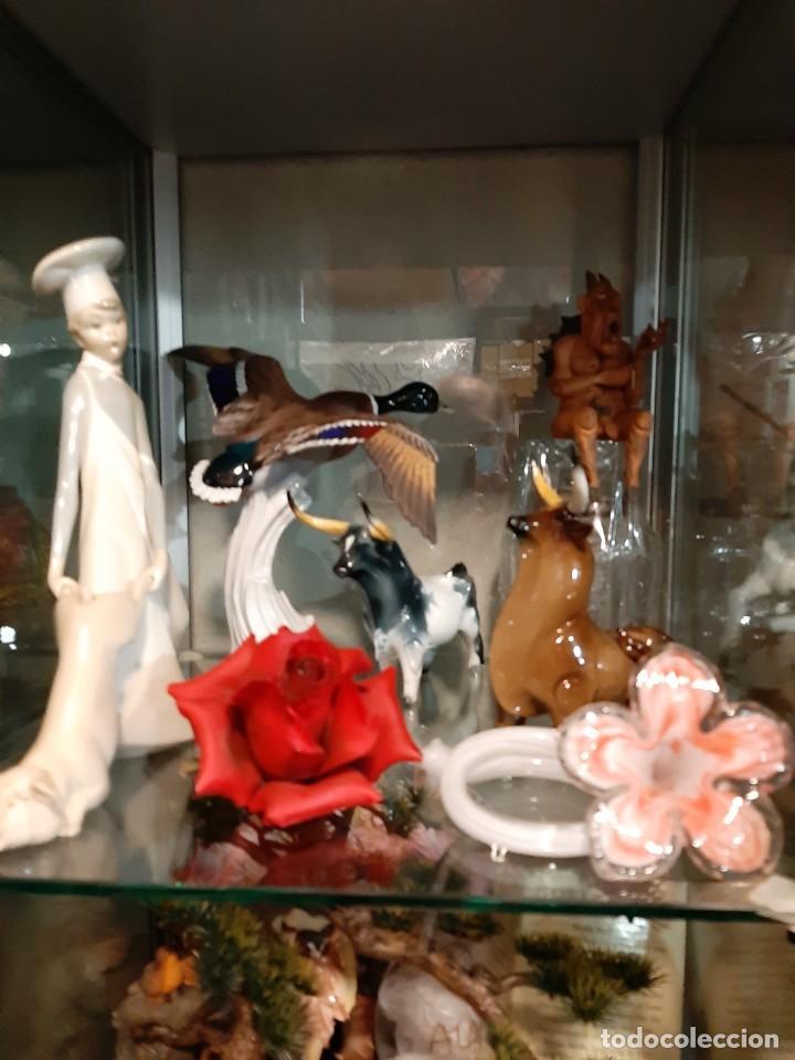 Tauromaquia: oferta , PAREJA DE TOROS RESTAURADOS DE PORCELANA MARCA ALGORA - Foto 14 - 233465770