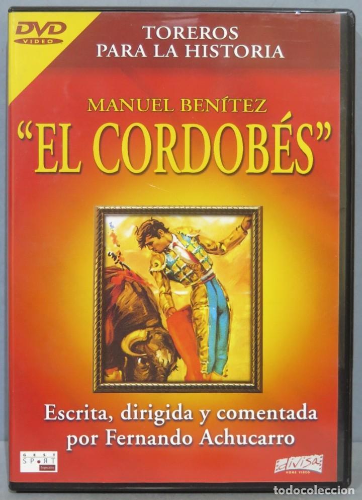 DVD. EL CORDOBES. TOREROS PARA LA HISTORIA (Coleccionismo - Tauromaquia)