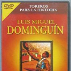 Tauromaquia: LP. DOMINGUIN. TOREROS PARA LA HISTORIA. Lote 234297145