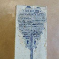 Tauromaquia: PLAZA DE TOROS VALENCIA. GALLO, GALLITO JOSELITO. AÑO 1913. ANTIGUO TAMPON PLANCHA DE MADERA Y METAL. Lote 234353005
