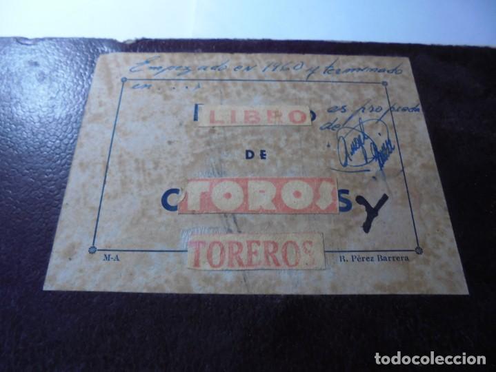 Tauromaquia: magnifico antiguo album con recortes de diarios toros y entradas - Foto 2 - 234708295