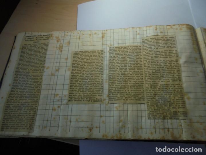 Tauromaquia: magnifico antiguo album con recortes de diarios toros y entradas - Foto 37 - 234708295