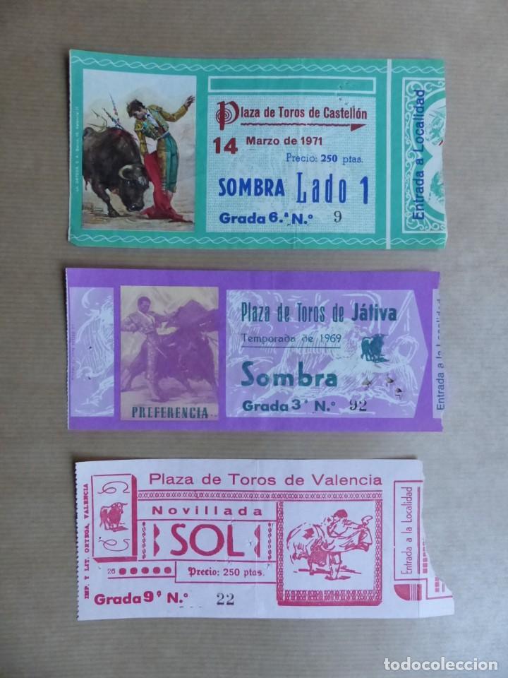 Tauromaquia: 107 ANTIGUAS ENTRADAS TOROS DE LOS AÑOS 1960-1970, VER FOTOS ADICIONALES - Foto 4 - 234712390