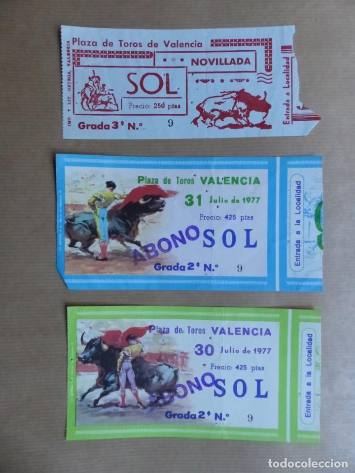 Tauromaquia: 107 ANTIGUAS ENTRADAS TOROS DE LOS AÑOS 1960-1970, VER FOTOS ADICIONALES - Foto 5 - 234712390