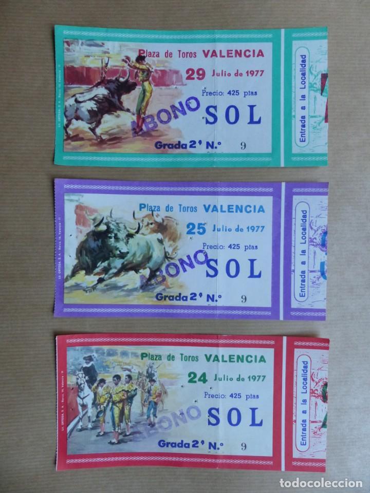 Tauromaquia: 107 ANTIGUAS ENTRADAS TOROS DE LOS AÑOS 1960-1970, VER FOTOS ADICIONALES - Foto 6 - 234712390