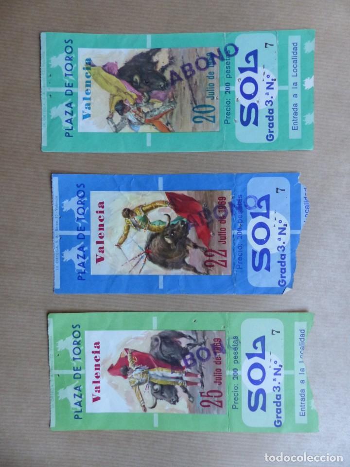 Tauromaquia: 107 ANTIGUAS ENTRADAS TOROS DE LOS AÑOS 1960-1970, VER FOTOS ADICIONALES - Foto 9 - 234712390