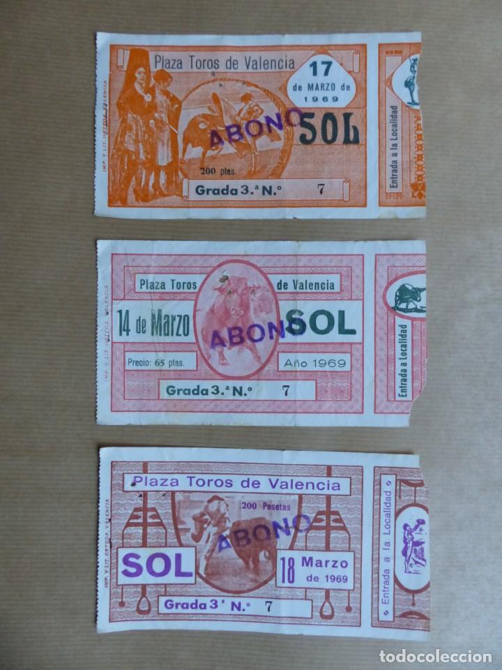 Tauromaquia: 107 ANTIGUAS ENTRADAS TOROS DE LOS AÑOS 1960-1970, VER FOTOS ADICIONALES - Foto 10 - 234712390