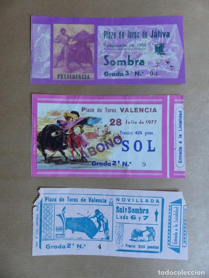 Tauromaquia: 107 ANTIGUAS ENTRADAS TOROS DE LOS AÑOS 1960-1970, VER FOTOS ADICIONALES - Foto 12 - 234712390